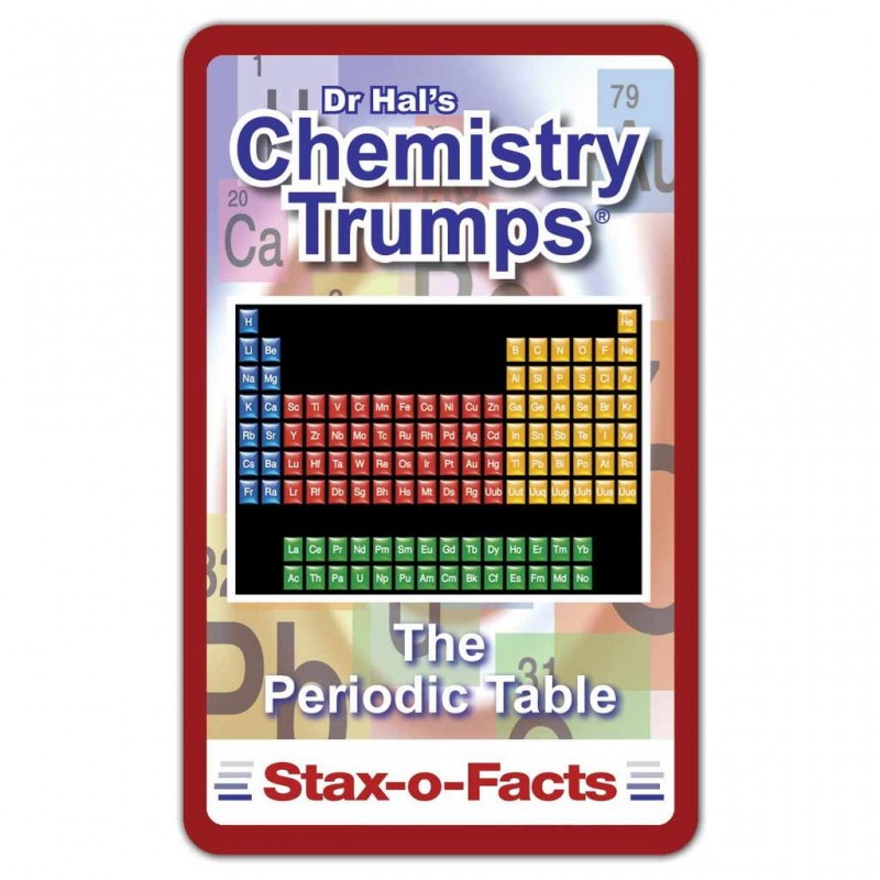 Top Trumps Rules >> Chemistry Top Trumps Card Game