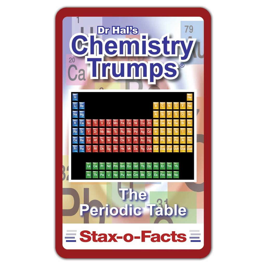 Chemistry top trumps card game periodic table shop gamestrikefo Images
