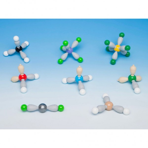 MOS-902-8 Shapes of Molecules 8 models