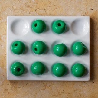 Molymod-MA-101-10 green 1-hole 20mm
