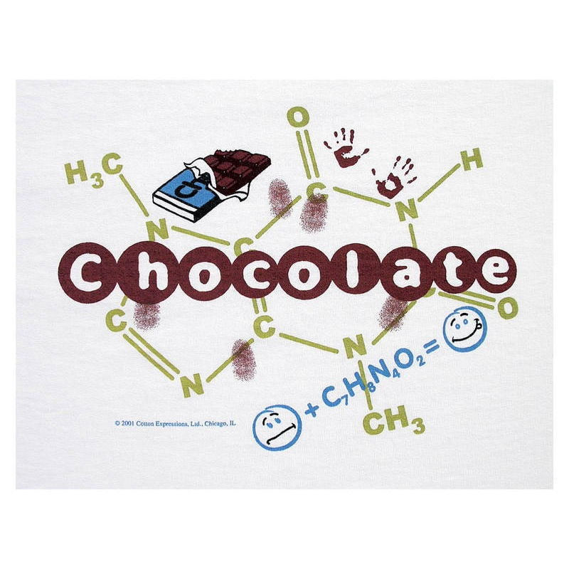 T Shirt Chocolate Periodic Table Shop