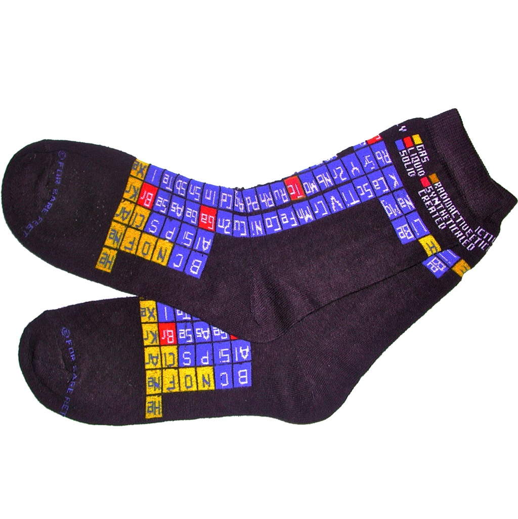 Periodic table socks periodic table shop gamestrikefo Choice Image