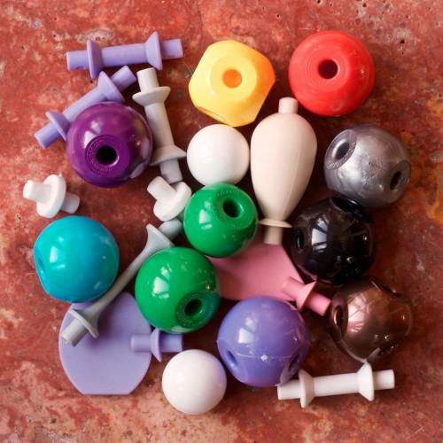 Molecular model spare parts